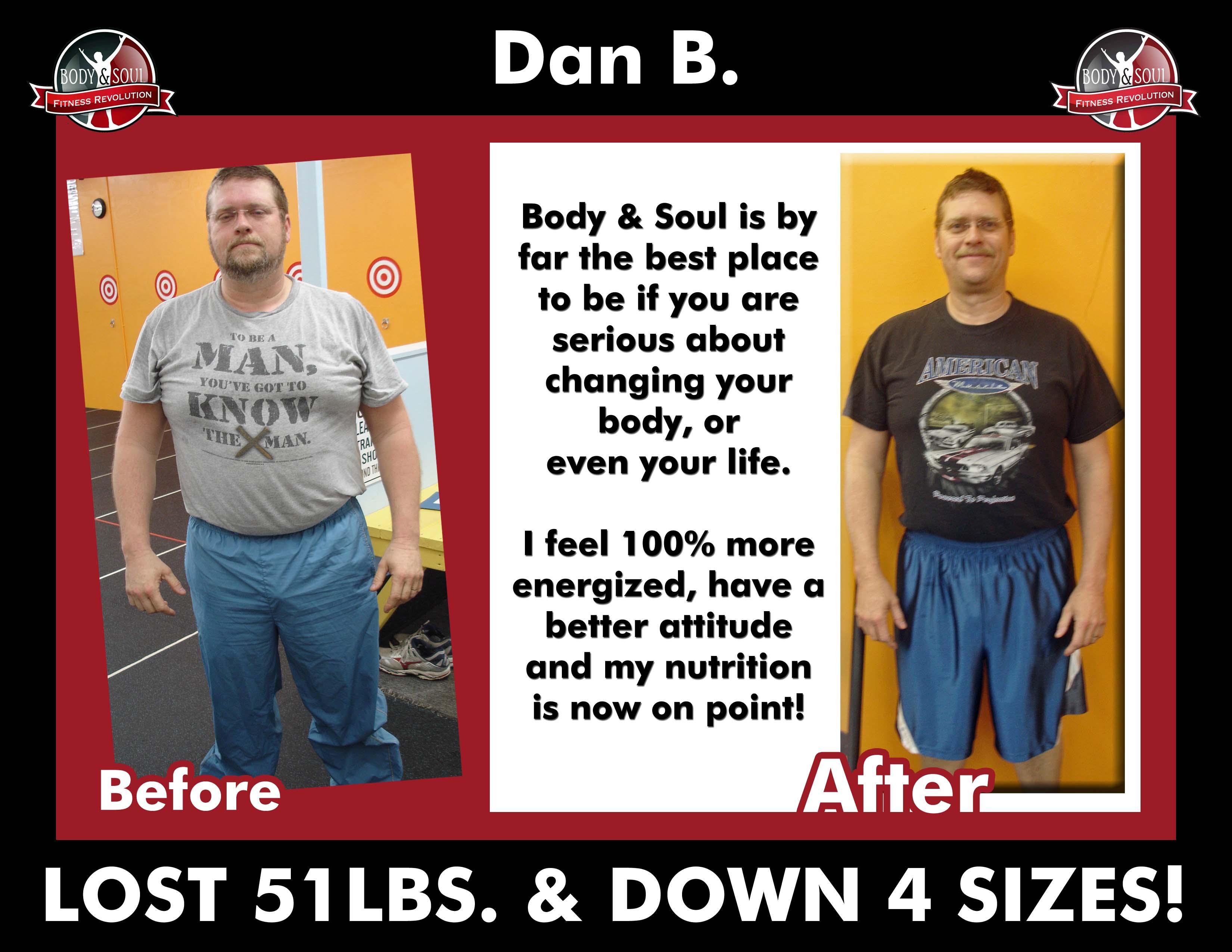 Dan's Transformation